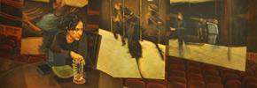نگاهی به آثار وانا نبی پور در گالری آتبین/الیاس پاکدل