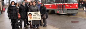 Organizing Tehranto: Bring My Husband Home