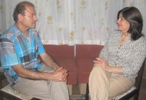 مینو همیلی در گفت وگو با منصور اصانلو