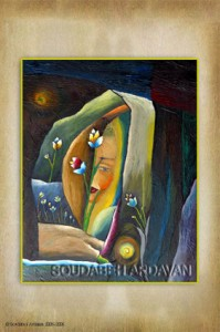 نقاشی از سودابه اردوان