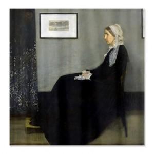 نقاشیِ مادر اثر ویسلر