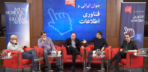 از راست: کامبیز حسینی، نیما راشدان، پطروسیان، آرش آبادپور،