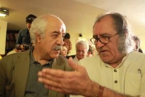 حافظ موسوی در کنار علیشاه مولوی