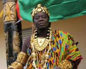 پادشاه منطقه هوهه در غنا که ساکن فرانکفورت آلمان است و با اسکایپ مملکت داری می کند
