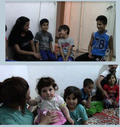 بچه های پناهجویان ایرانی در ترکیه