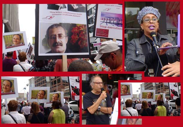zamani-protest
