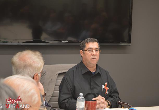 سخنرانی علی دهباشی در تورنتو