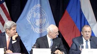 مذاکرات درباره سوریه
