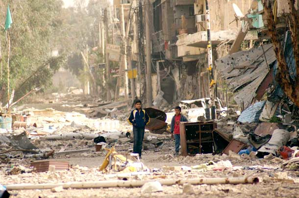از سوریه دیگر چیزی به جا نمانده است