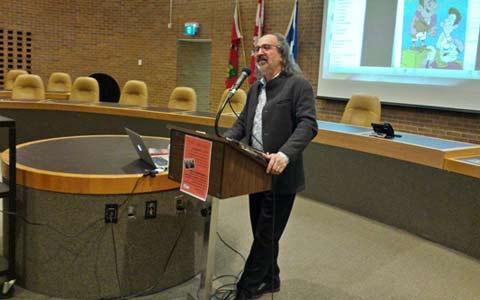 دکتر محمد توکلی در کانون کتاب تورنتو