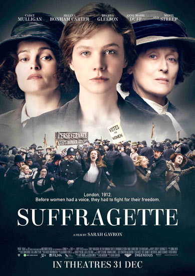 SuffragetteA4-Poster