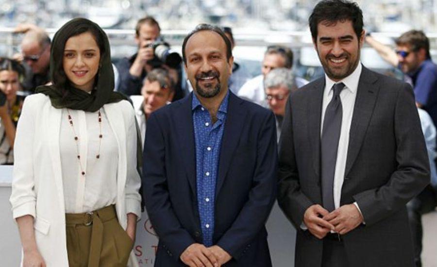 شهاب حسینی، اصغر فرهادی و ترانه علیدوستی در جشنواره فیلم کن ـ می 2016