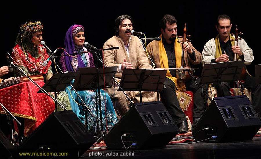 شاهو عندلیبی در کنسرت با گروه آوای عندلیب