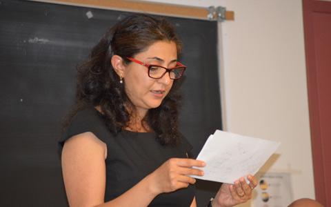 خاطره شیبانی در مراسم یادبود عباس کیارستمی در دانشگاه تورنتو