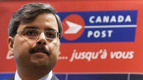 دیچک چوپرا رئیس سازمان پست کانادا
