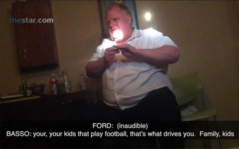 ویدیوی مواد مخدر کشیدن راب فورد منتشر شد