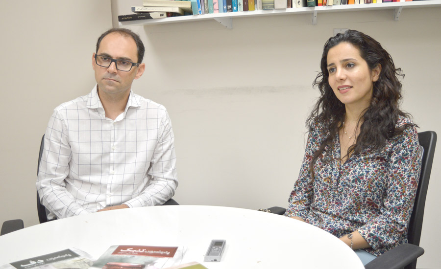 پدیده احرارنژاد و علی مسعودی در دفتر شهروند
