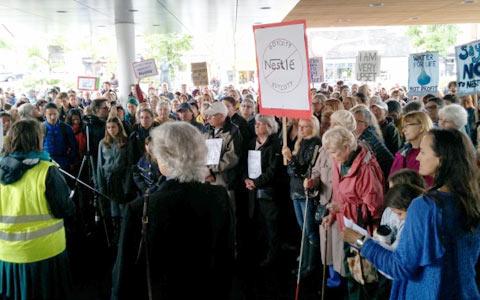 nestle-protest