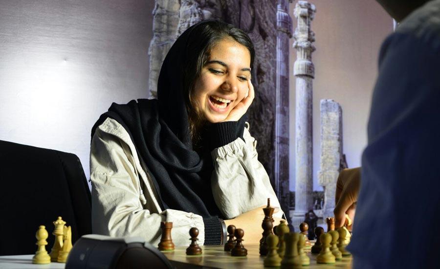 سارا خادم الشعریعه قهرمان شطرنج